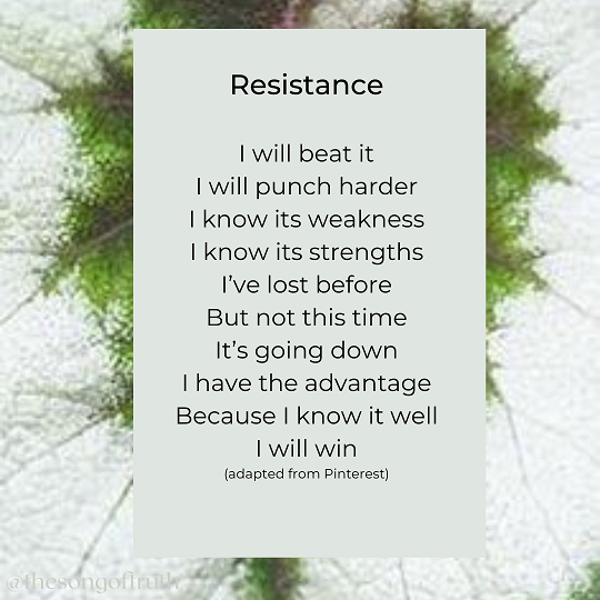 Resistance by Mary Wride