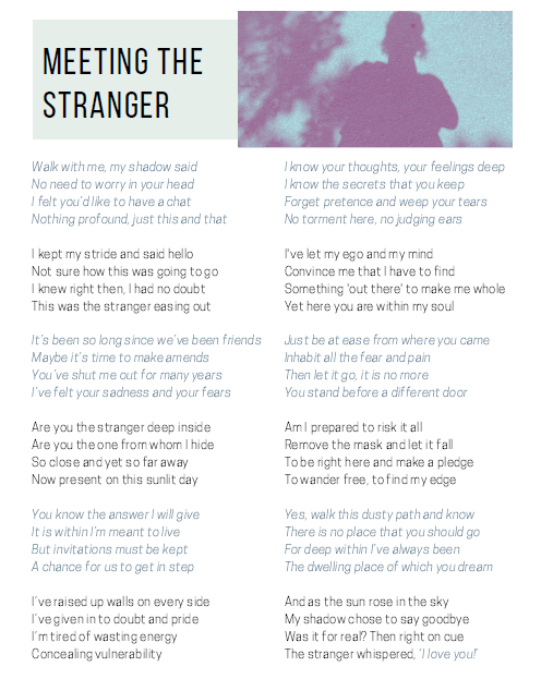 Meeting the stranger by Mary Wride 2021